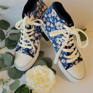 Cath kidston Floral Romantic hight top sneakers